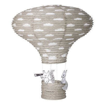 Bloomingville Kids Paper Hot-Air Balloon Lamp-listing