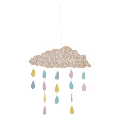 Bloomingville Kids Wooden Cloud Mobile-listing