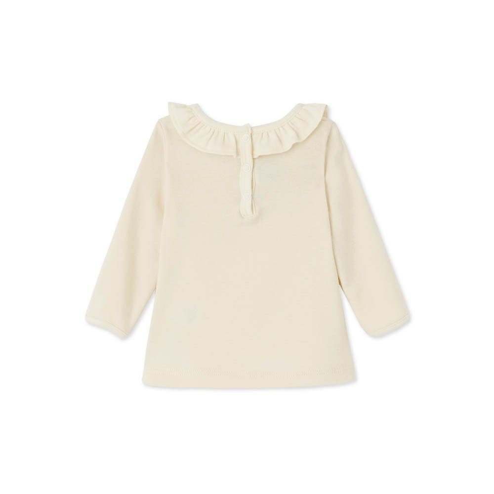 Boat Ruffle Collar T-Shirt-product