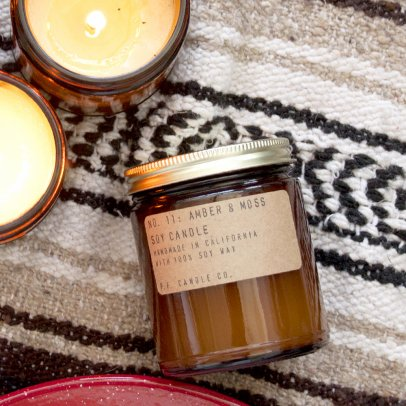 P.F. Candle Co Duftkerze Soja n°11- Amber & Mousse-listing