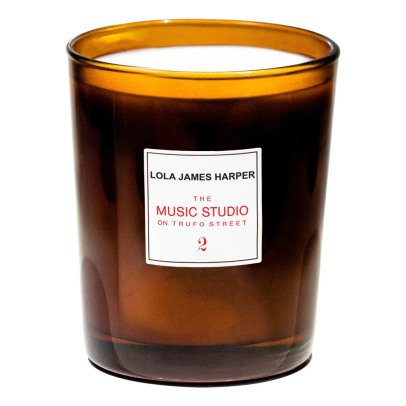 Lola James Harper The Music Studio on Trufo Street Scented Candle-listing