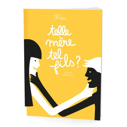 "Minus Editions ""Telle mère, tel fils?"" Mother/Son Notebook-listing"