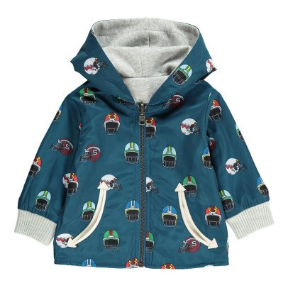 Stella McCartney Kids Rookie Revrsible Zip-Up Hooded Jacket-listing