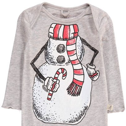 Stella McCartney Kids Rufus Snow Organic Cotton Pyjamas-listing