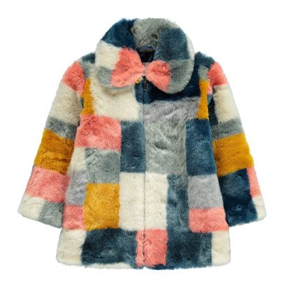 Stella McCartney Kids Abbie Faux Fur Coat-listing