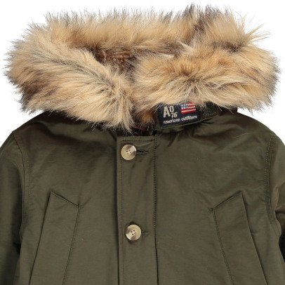 AO76 Faux Fur Hooded Parka-listing