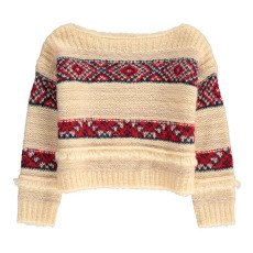 product-AO76 Jacquard Mohair Jumper