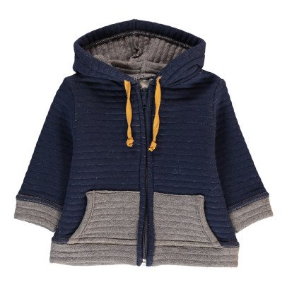 Blune Kids Inside Out Zip-Up Hoodie-listing