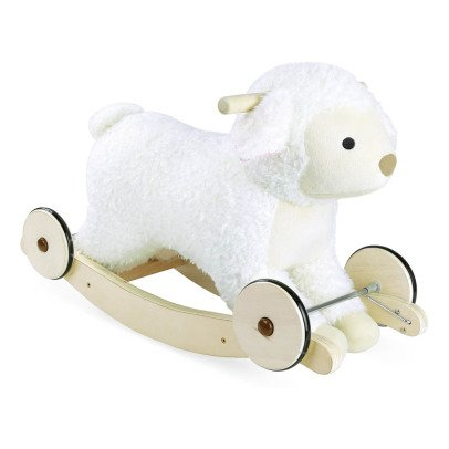 Vilac 2-in-1 Wooden Rocking Sheep-listing
