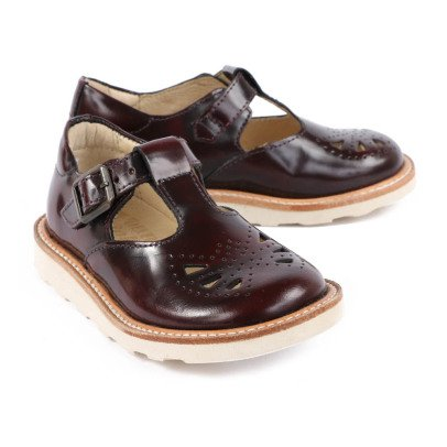 Young Soles Rosie Varnished Leather Mary Janes-listing