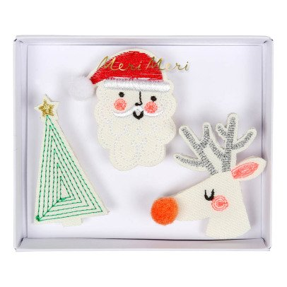 Meri Meri Christmas Brooches - Set of 3-listing