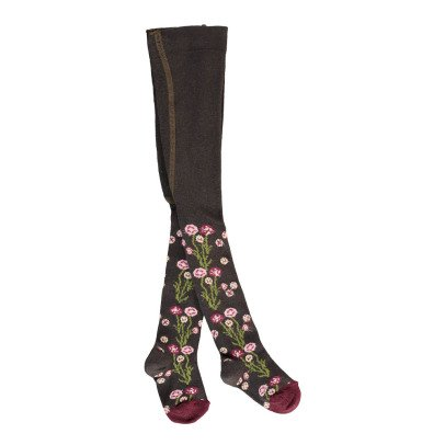 Gold Floral Tights-listing