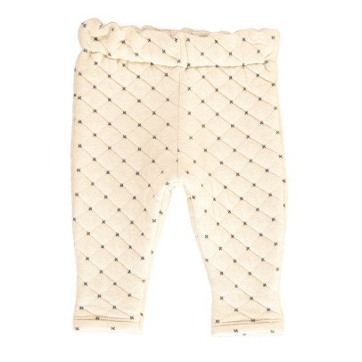 Gold Batoul Japanese Cotton Jogging Bottoms-listing