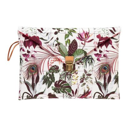 "Maison Baluchon Pochette Macbook 13"" Tropical-listing"