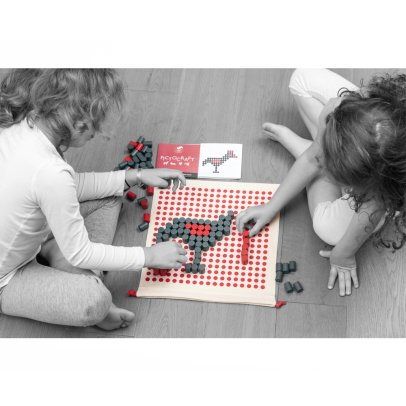 Les Jouets Libres Pictocraft - Shape Building Game-product