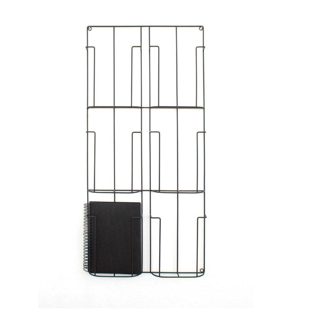 metal wall mounted magazine rackproduct