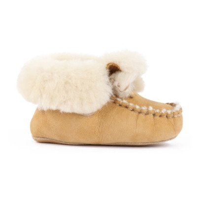 Gallucci Fur Lined Slippers-listing