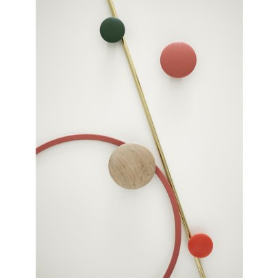 Muuto Patère The dots 13 cm - Medium-listing