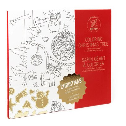 Omy Christmas Giant Colouring Poster-listing