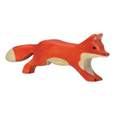 Holztiger Figurine in legno volpe-listing