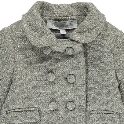 Tartine et Chocolat Lurex Wool Coat-listing