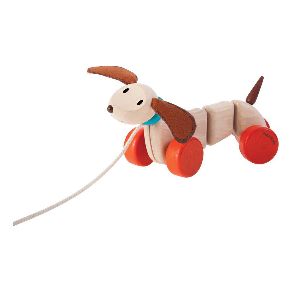 Perro de arrastre gigante Teck Rojo Plan Toys Juguetes y Hobby