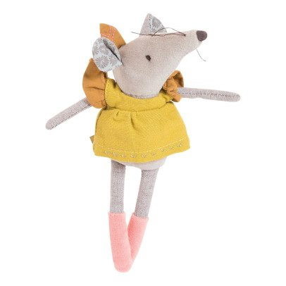 Moulin Roty Lisette Mouse Soft Toy 20cm-listing