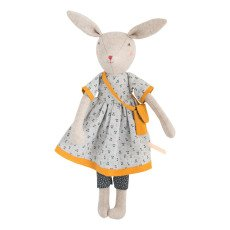 product-Moulin Roty Maman Rose Rabbit Doll 40cm