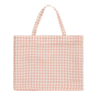 Linge Particulier Bolso de lino vichy-listing