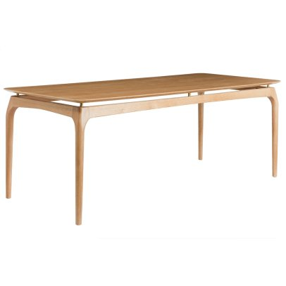 Red Edition Solid Oak Dining Table-listing