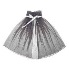 product-Mouche Mantello in tulle paillettes argentate