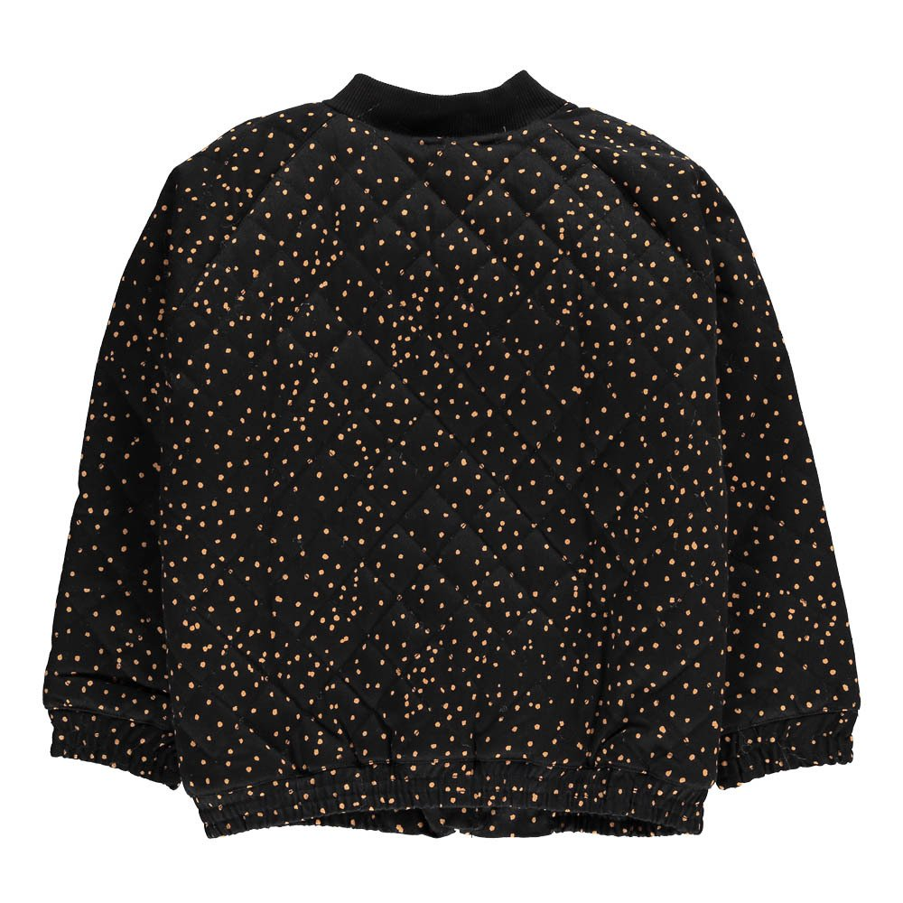 Fur Lined Polka Dot Jacket-product