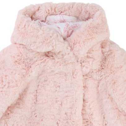 Billieblush Faux Fur Hooded Coat-listing