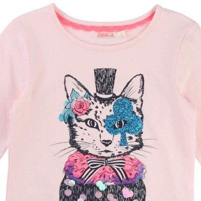Billieblush Cat T-Shirt-listing