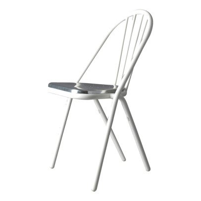 DCW Editions Gras Surpil Chair With White Frame & Aluminium Seat-product
