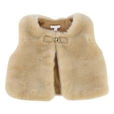 product-Chloé Engraved Button Sleeveless Gilet