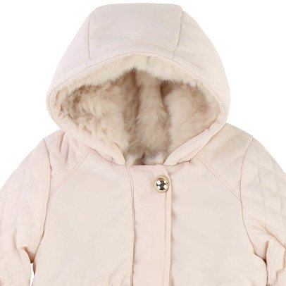 Chloé Faux Fur Lined Quilted Jacket-listing
