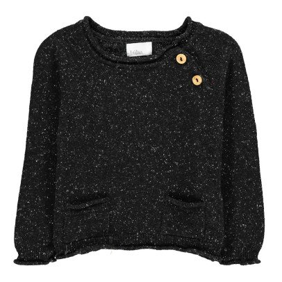 Buho Pierrot Flecked Jumper With Pockets-listing