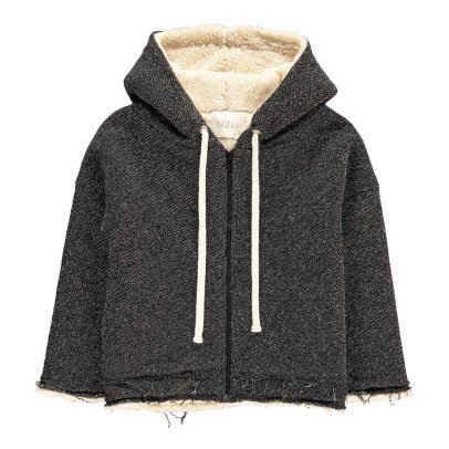 Buho Olivier Fur Lined Zip-Up Hoodie-listing