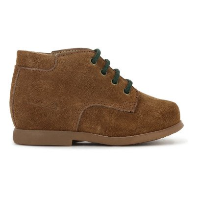 Pom d'Api Nioupi Lace-Up Leather Ankle Boots-listing