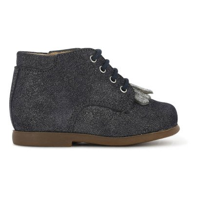 Pom d'Api Mex Nioupi Glitter Lace-Up Shoes-listing
