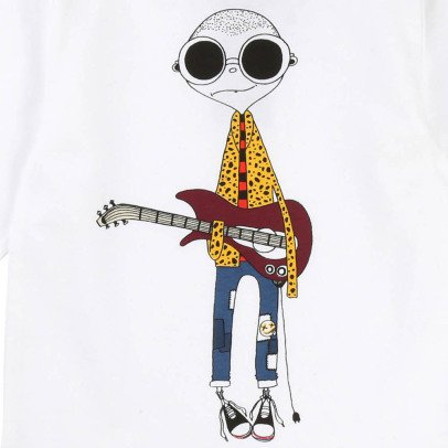 Little Marc Jacobs Baby Guitar Mister Marc T-Shirt-listing