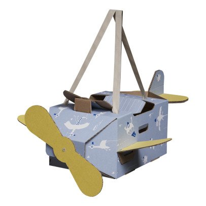 Mister Tody Flying Circus Cardboard Aeroplane Costume-listing