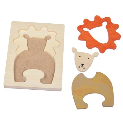 Bass & Bass Puzzle relief Lion-listing