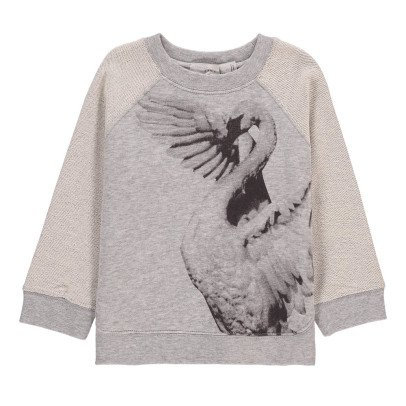 Stella McCartney Kids Sweat Cygne Oyster-product