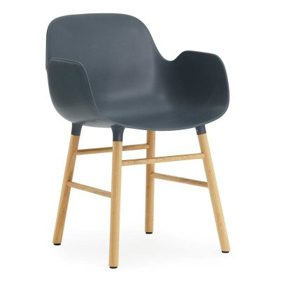 Normann Copenhagen Oak Form Chair With Armrests-product