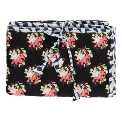 Le Petit Lucas du Tertre Russian Flower Sponge Lined Travel Changing Mat-listing