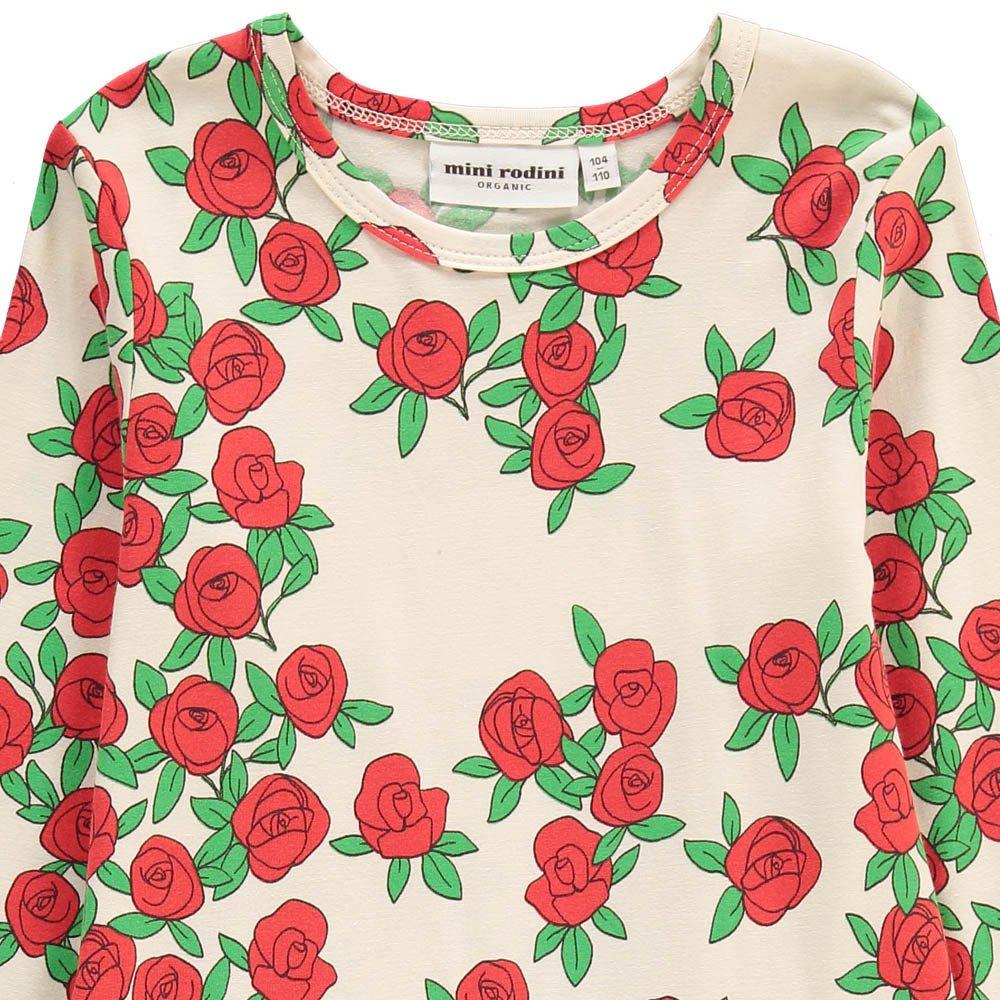 Sale - Roses Organic Cotton Skater Dress - Mini Rodini Mini Rodini eLUmYdjW