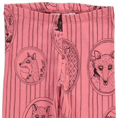 Mini Rodini Fox Organic Cotton Leggings-listing