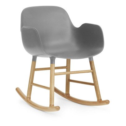 Normann Copenhagen Form Oak Rocking Armchair-listing